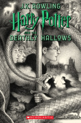 Brian Selznick's copertine for Harry Potter and the Deathly Hallows
