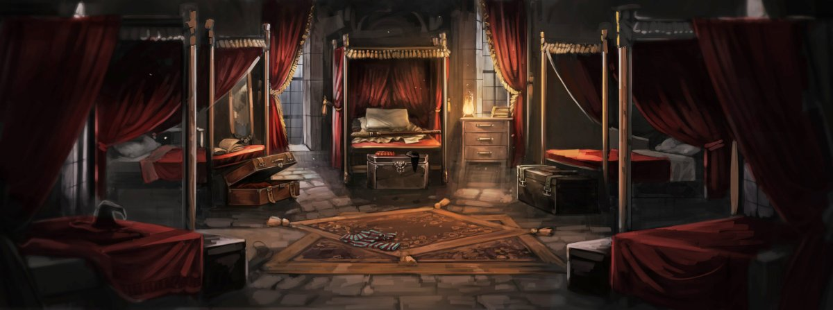 Hogwarts Wallpaper Hd The Gryffindor Dormitory Pottermore