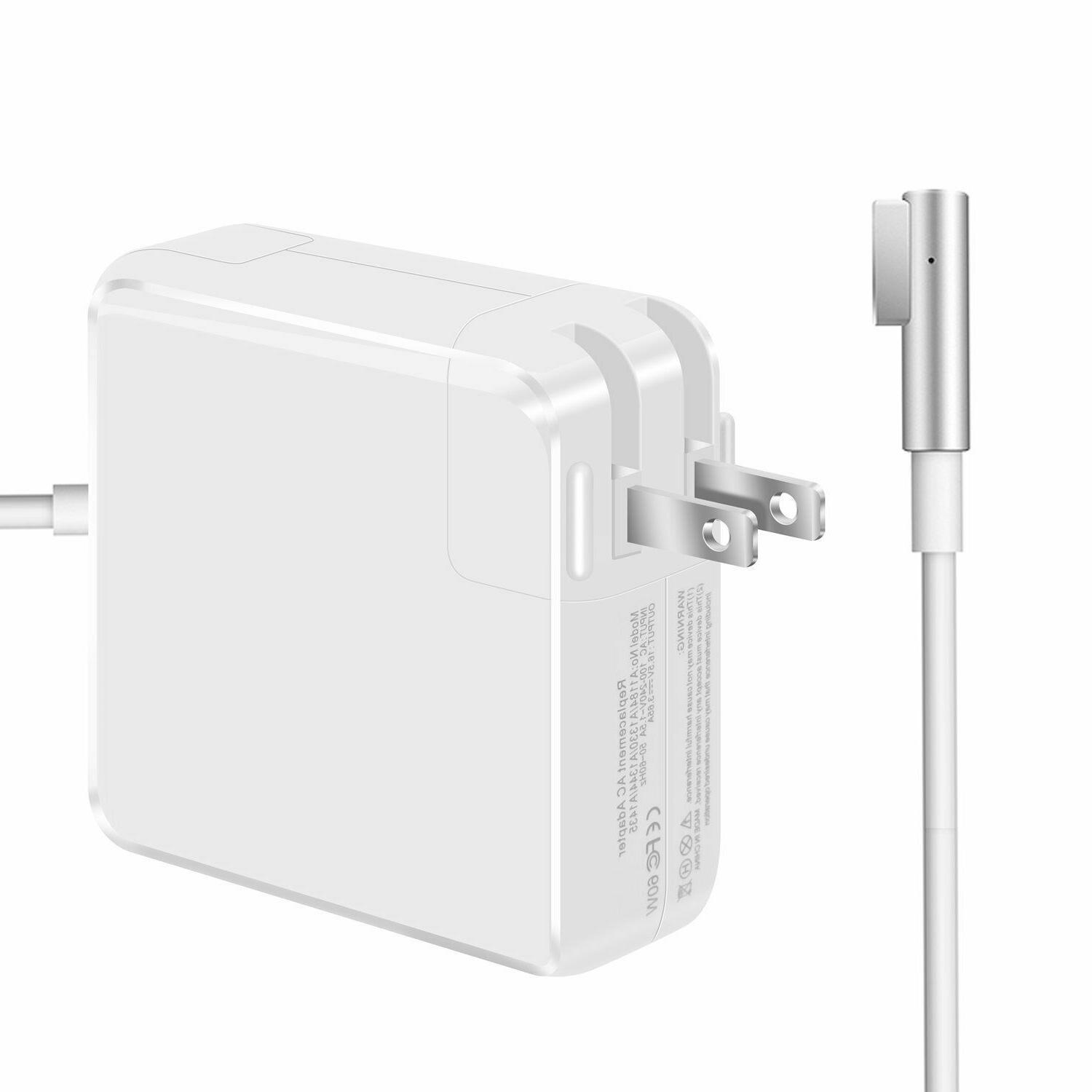 Macbook Pro Charger. 60W L-Tip Replacement Power Adapter