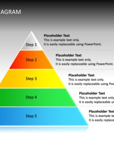 Powerpoint slide pyramid diagram  multicolor levels cg also rh crystalgraphics