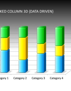 Powerpoint slide stacked column chart  multicolor data driven also rh crystalgraphics