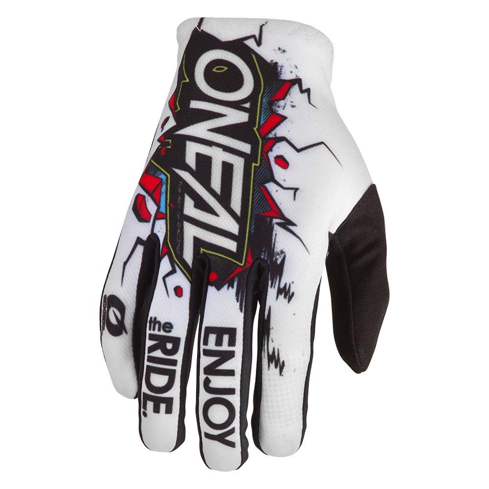 O'Neal® 0388-V12 - Matrix Villain Gloves (12. White/Black) - POWERSPORTSiD.com