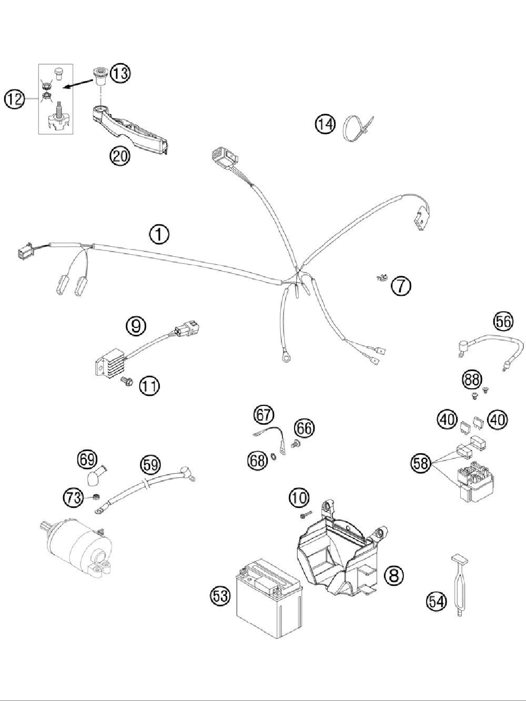 2009 Ktm Xc W 300 Wiring Diagram