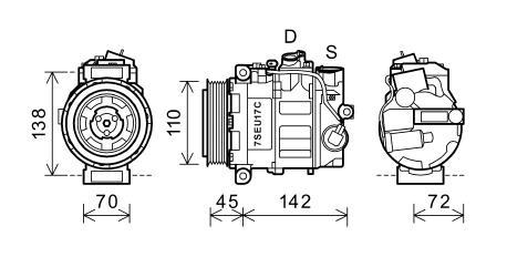 MERCEDES-BENZ CLK 1997-2002 COUPE Compressor C 200