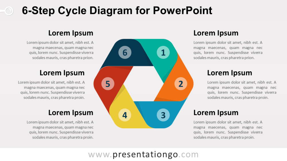 medium resolution of 6 step cycle diagram for powerpoint