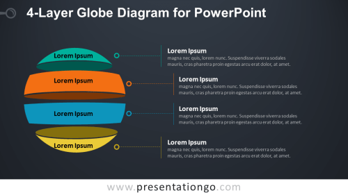 small resolution of globe diagram for powerpoint dark background