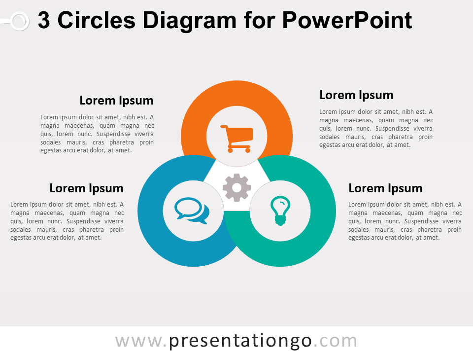 sets and venn diagrams powerpoint 2006 gmc sierra bose audio wiring diagram 3 circles for - presentationgo.com