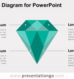 green diamond powerpoint template [ 1280 x 720 Pixel ]