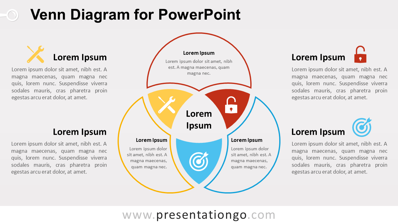 hight resolution of free venn diagram template for powerpoint