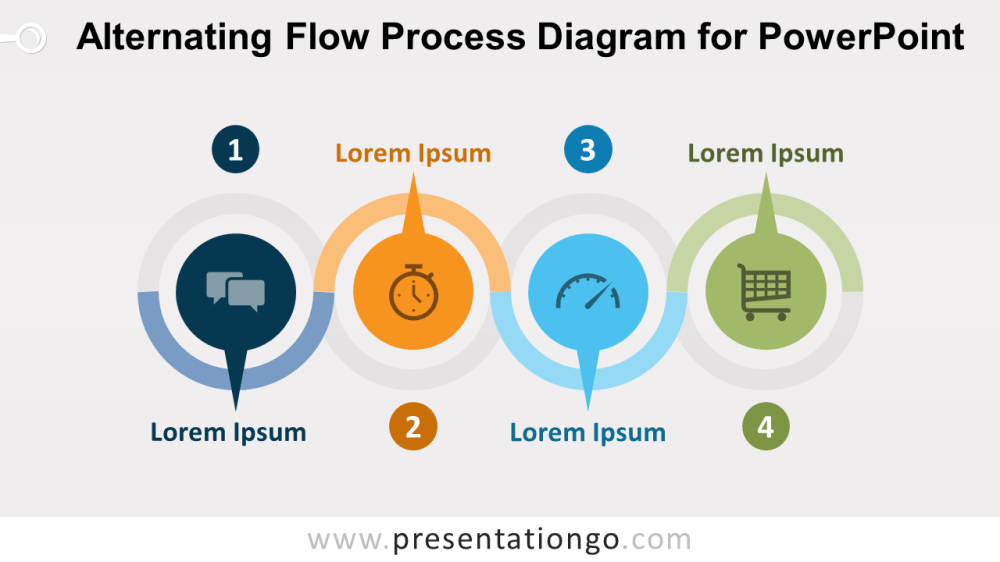 medium resolution of alternating flow process diagram for powerpoint