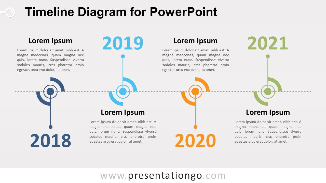 Timeline Diagram for PowerPoint - PresentationGO.com