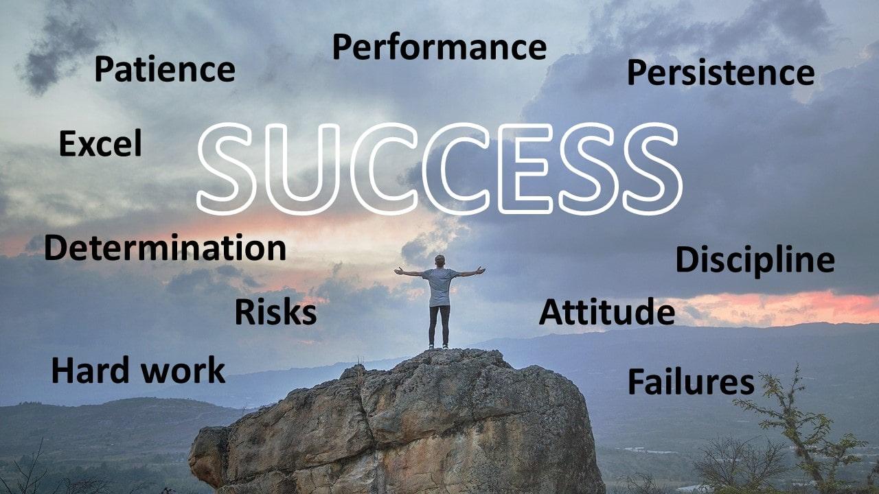 Motivational Success Slide for PowerPoint  PresentationGOcom