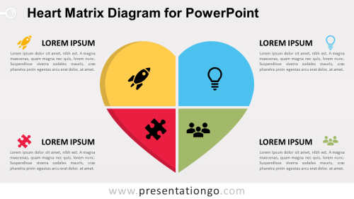 small resolution of free heart matrix for powerpoint