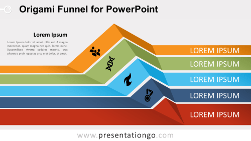 small resolution of free origami funnel diagram for powerpoint