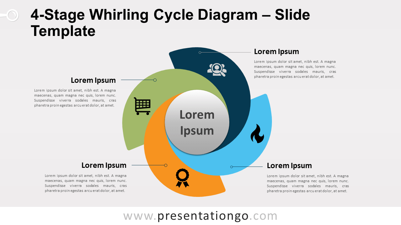 hight resolution of 4 part cycle diagram template