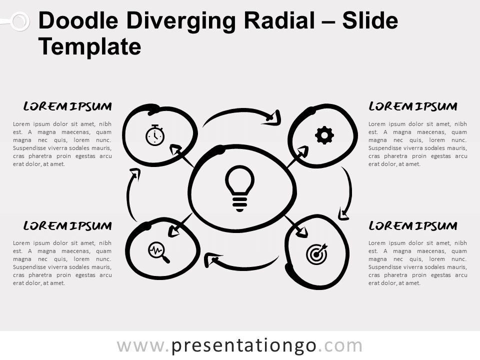 Free Circular Process Diagrams for PowerPoint and Google