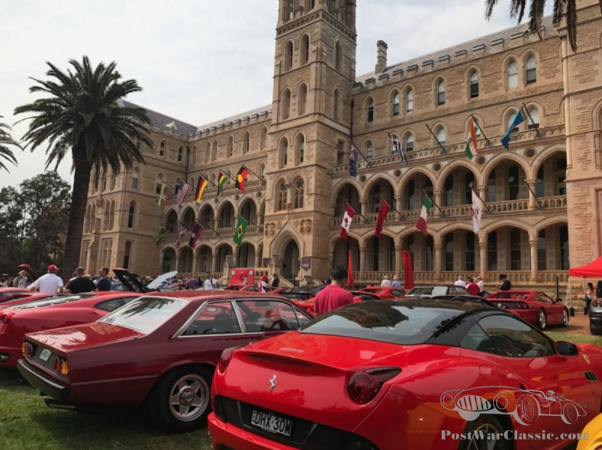 hight resolution of australia s take on ferrari s festivities