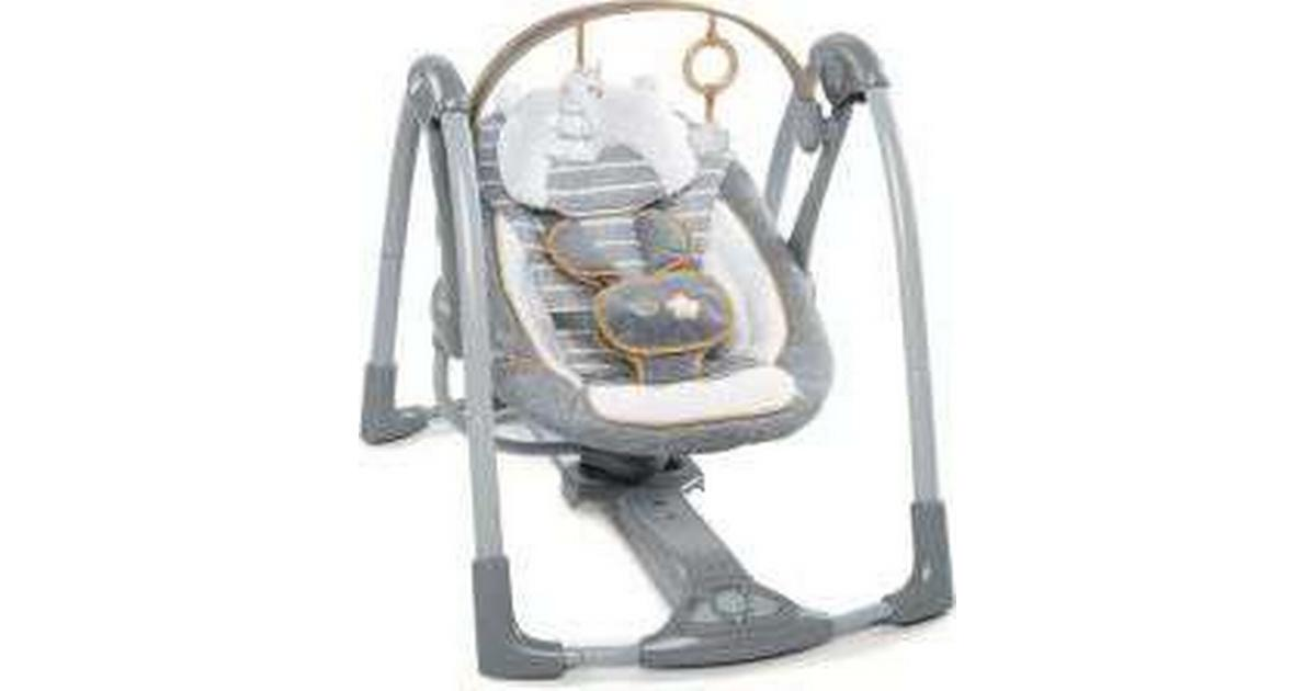 Ingenuity ConvertMe Swing-2-Seat Portable Swing