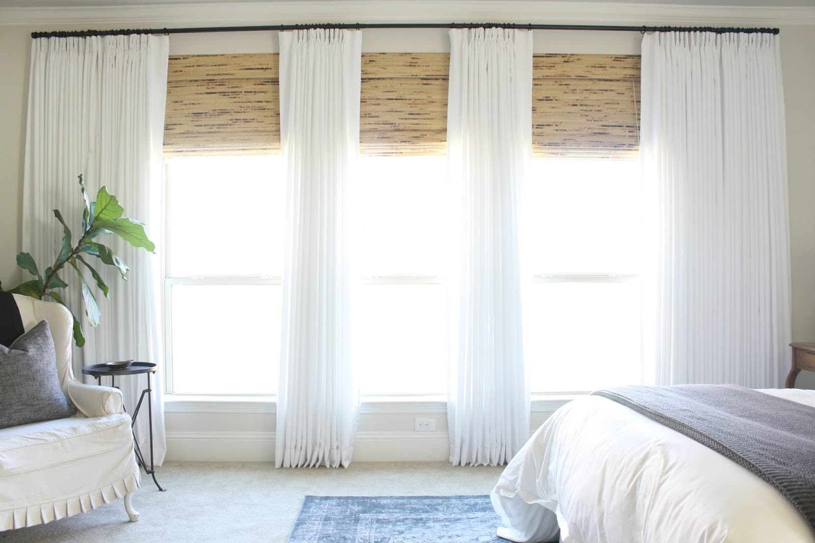 How To Layer Window Treatments The Blinds Com Blog