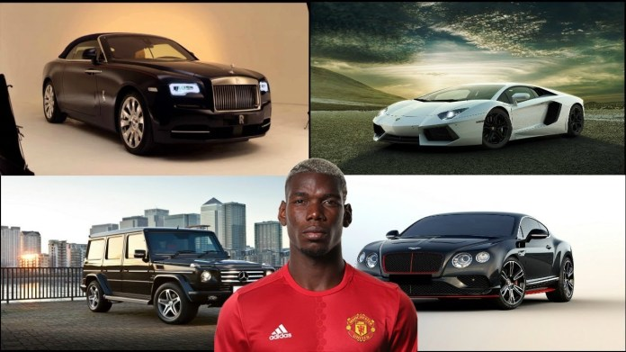 Paul Pogba is the tenth richest football player in the world