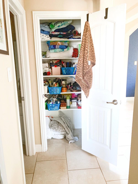 Bathroom Closet Organization Inspiration From Glamorous
