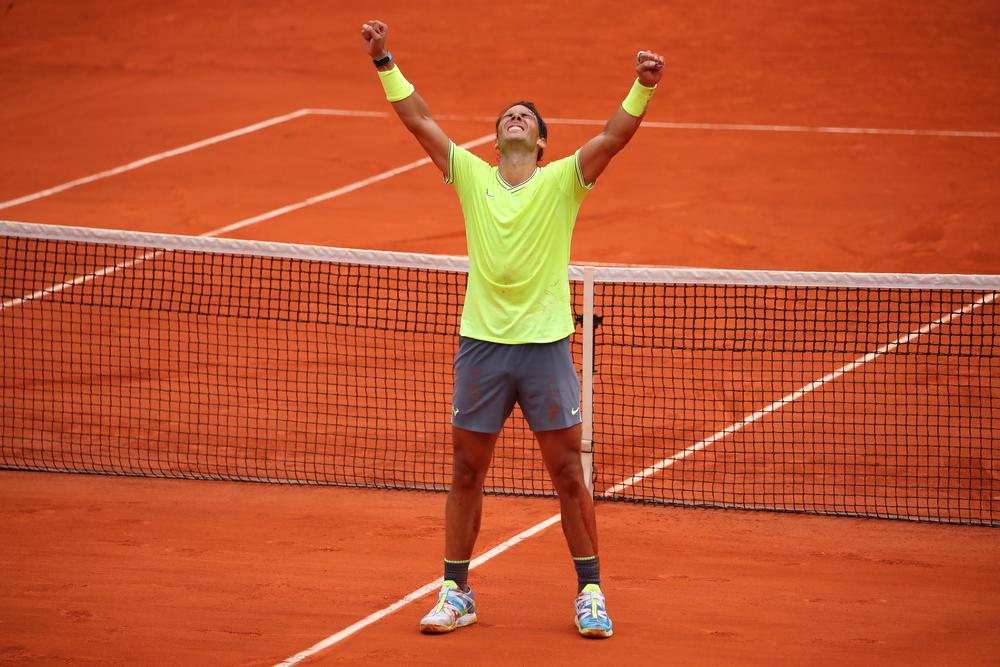 All hail King Rafa - Roland-Garros -