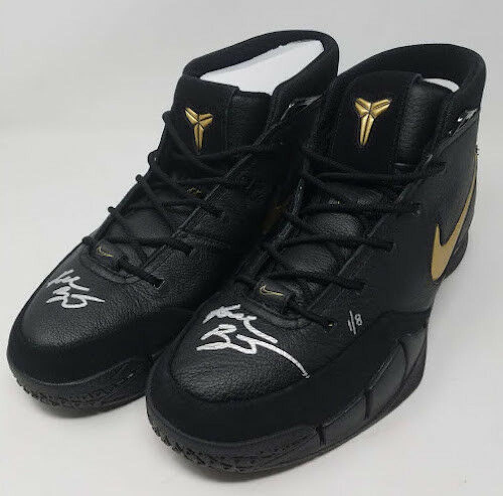 Kobe Bryant Signed Pair of (2) LE Nike Mamba Day Edition Kobe 1 Protro Basketball Shoes (Panini COA)   Pristine Auction