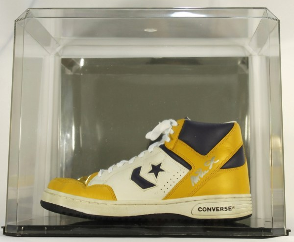 Vintage Magic Johnson Converse Basketball Shoes