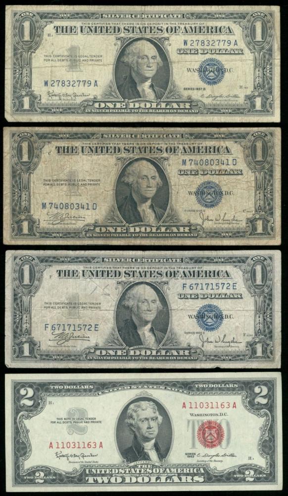 1957 Silver Certificate Blue