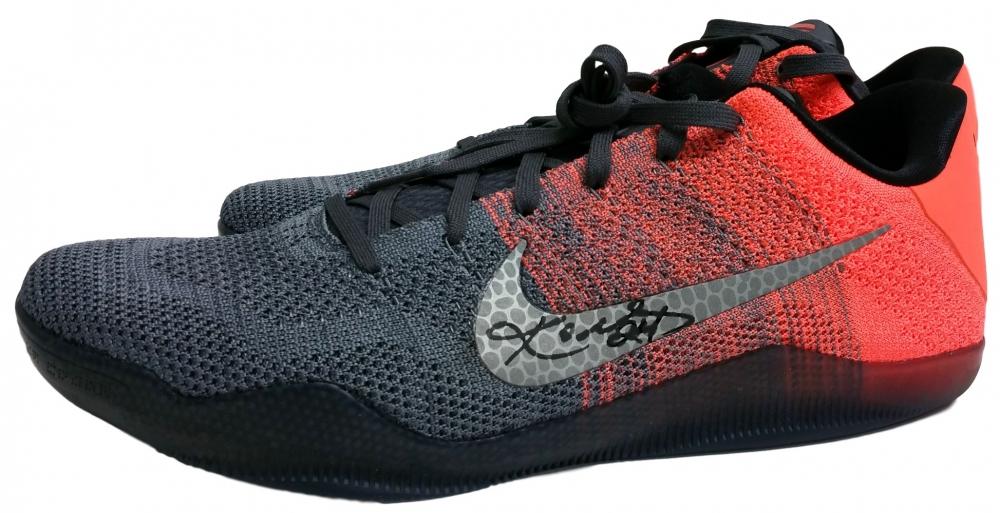 Kobe Bryant Signed Pair of (2) Nike Kobe XI Elite Low Top Basketball Shoes (JSA LOA)   Pristine Auction