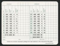 Sam Snead Signed Masters Tournament Scorecard (JSA COA