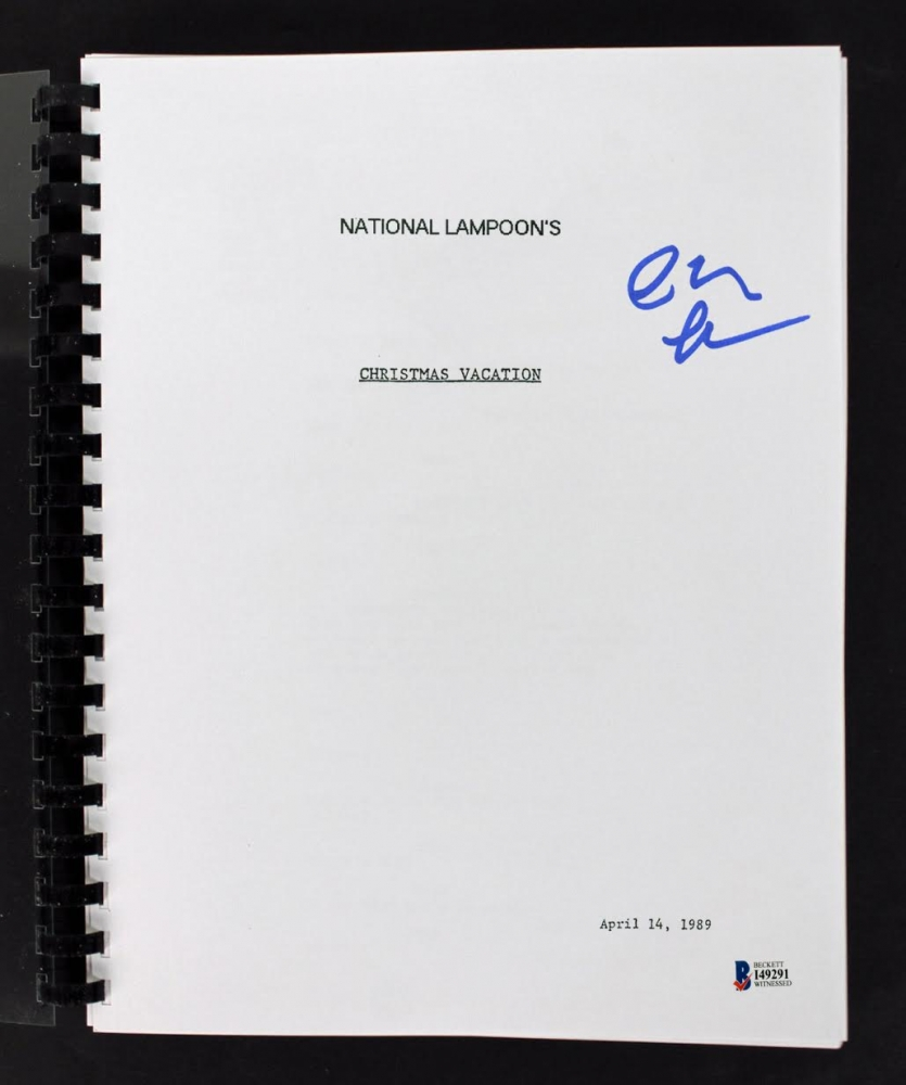 national lampoons christmas vacation script - National Lampoons Christmas Vacation Trivia