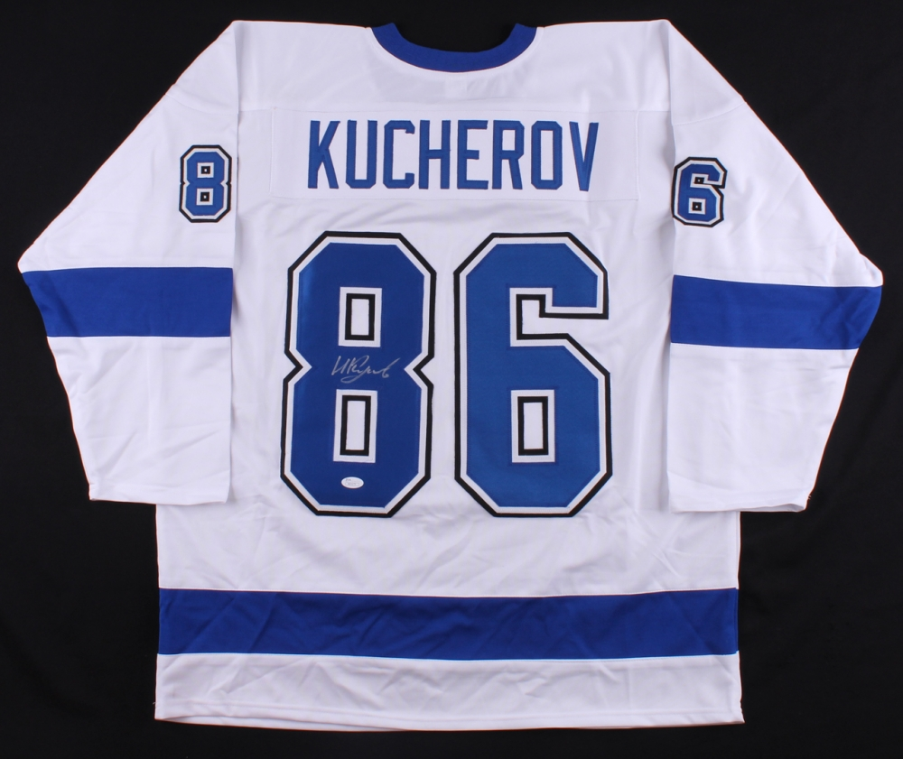 Kucherov Signed Jersey