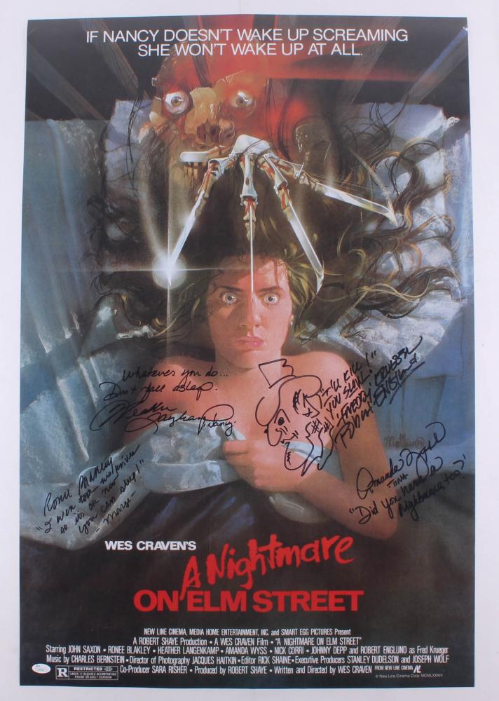 a nightmare on elm street 24x36 poster