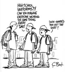 uniforms cartoon history uniform conformity procon outfitters briggs accessed graham aug source