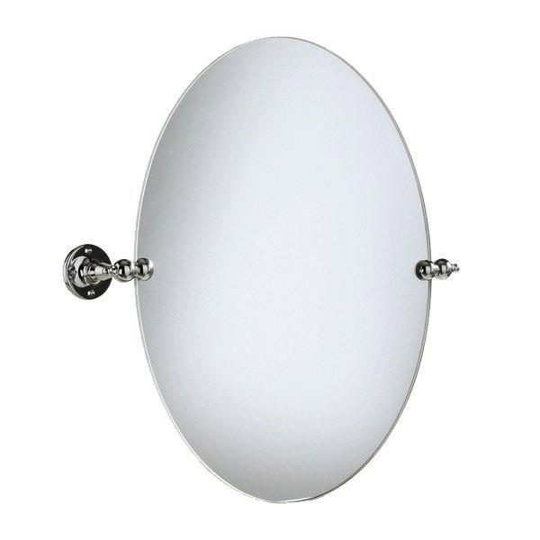Heritage Oval Swivel Mirror Chrome  AHC17