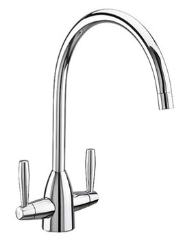 Franke Wave Pull-Out Nozzle Kitchen Sink Mixer Tap Chrome