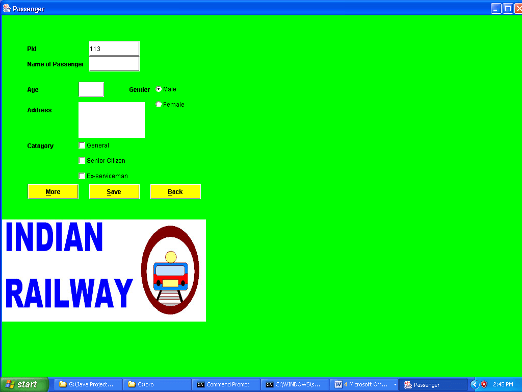 class diagram for railway reservation system cie 1931 color space chromaticity online project in java projectsgeek