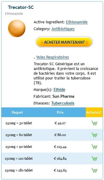 Combien Coute Le Trecator Sc En Pharmacie