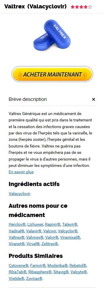 Commander Du Valtrex 1000 mg
