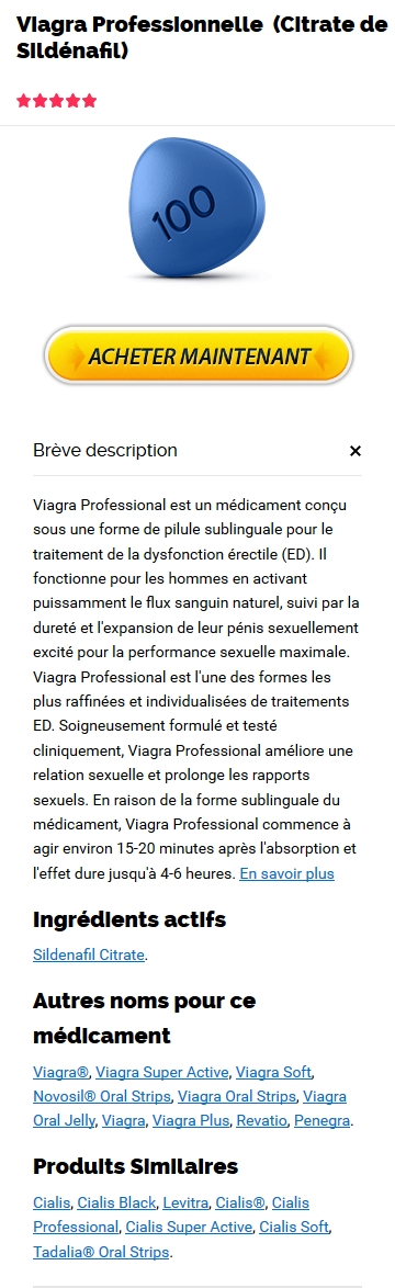 Acheter Professional Viagra En Ligne Pas Cher