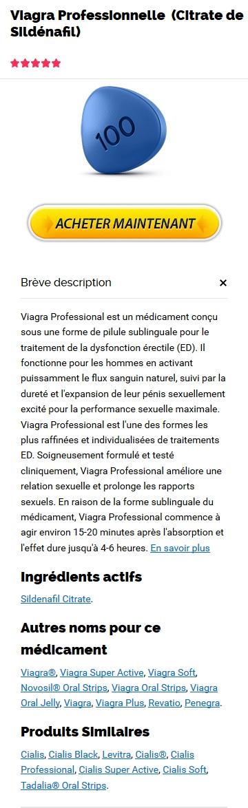 Professional Viagra Générique Pas Cher