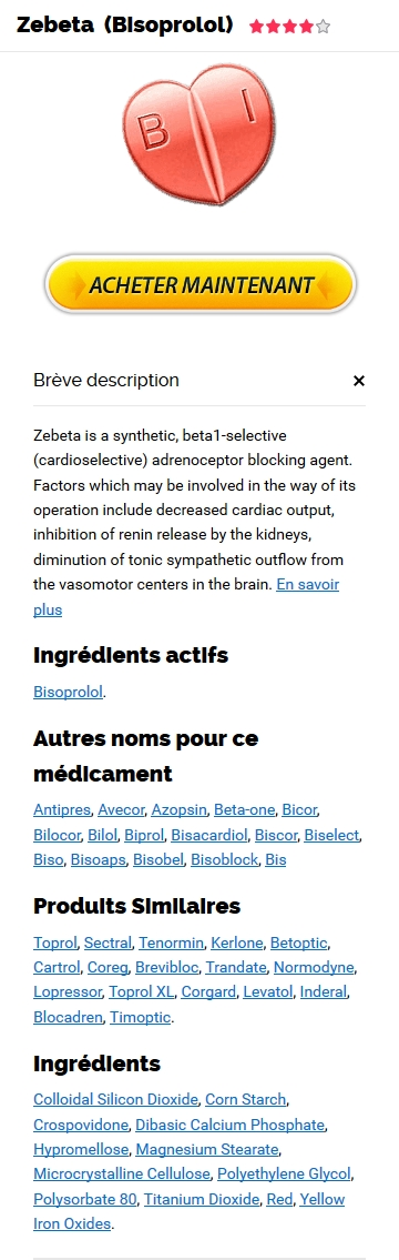 Ou Commander Du Zebeta 2.5 mg