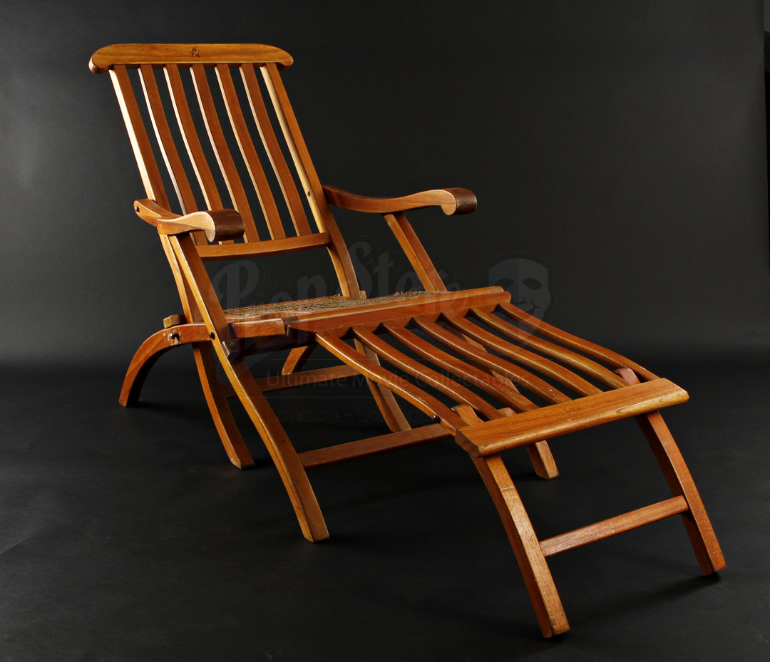 Titanic Deck Chair Prop Store Ultimate Movie Collectables