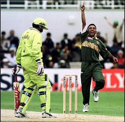 Khaled Mahmood was the hero of that victory against Pakistan in the 1999 World Cup.