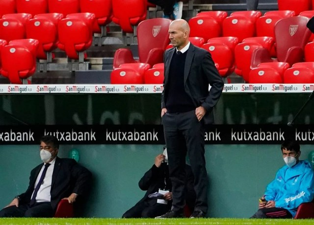 Zidane has been forced to leave the club