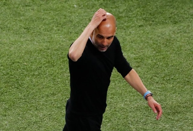 Guardiola is in danger when he thinks of tomorrow.