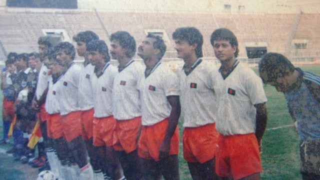 This team of Bangladesh played great in the 1989 World Cup qualifiers.