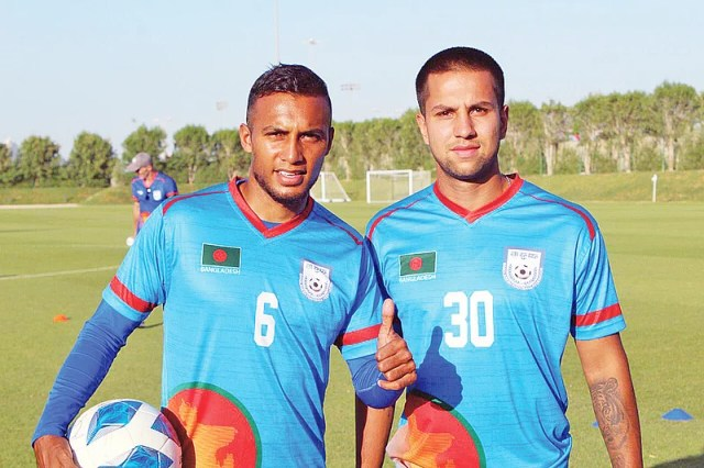 After Jamal Bhuiyan, another expatriate footballer Tariq Qazi may make his debut in the national team today