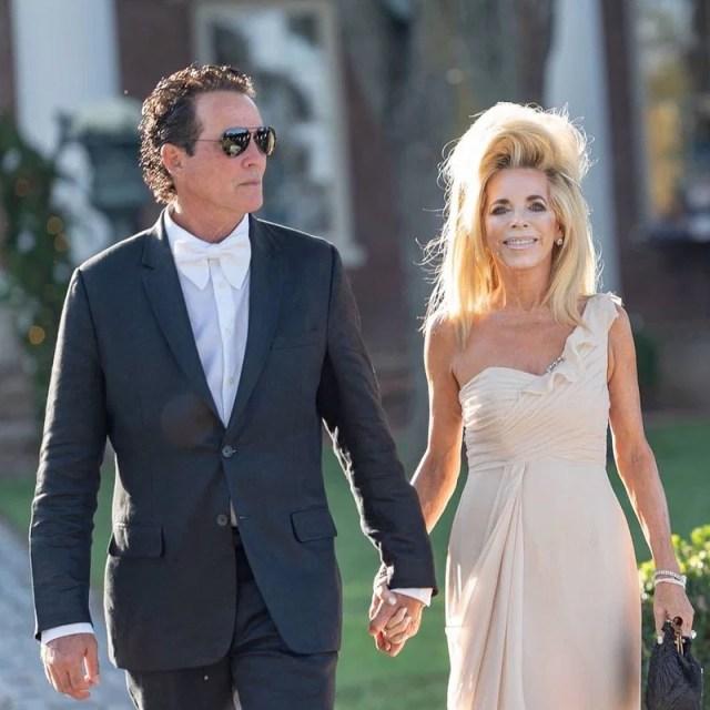 Joe Lara and his wife